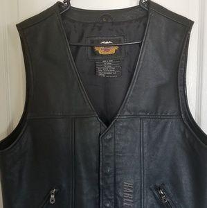 Harley - Davidson leather vest
